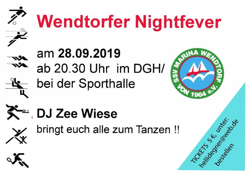 SSV Party Nightfever am 28.09.2019